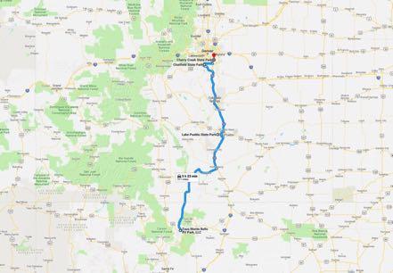 Pueblo Lake State Park Motoring Across America Travel Blog
