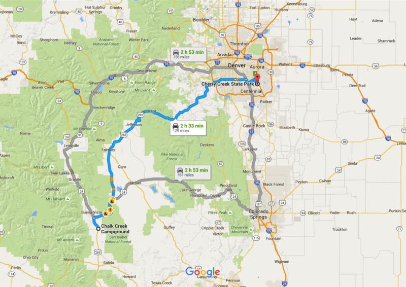 Travel Blog 262 Very Sweet at Cherry Creek Motoring Across